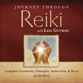Product picture Journey Through Reiki with Lisa Guyman:  Complete Treatments, Principles, Instruction & Music.  5 CD Set